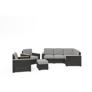 Boca Raton 4-Piece Sectional Set