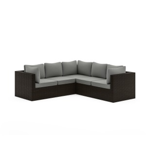 Cape Shores Sectional and Table Set
