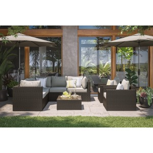 Cape Shores 4-Piece Sectional Set