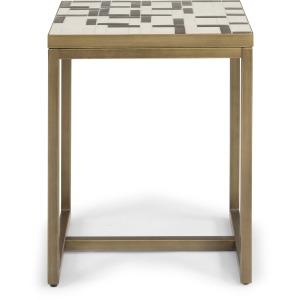 Geometric Ii End Table