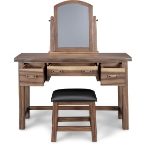 Forest Retreat Vanity and Bench