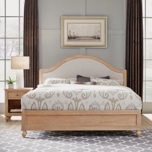 Claire King Bed and Nightstand