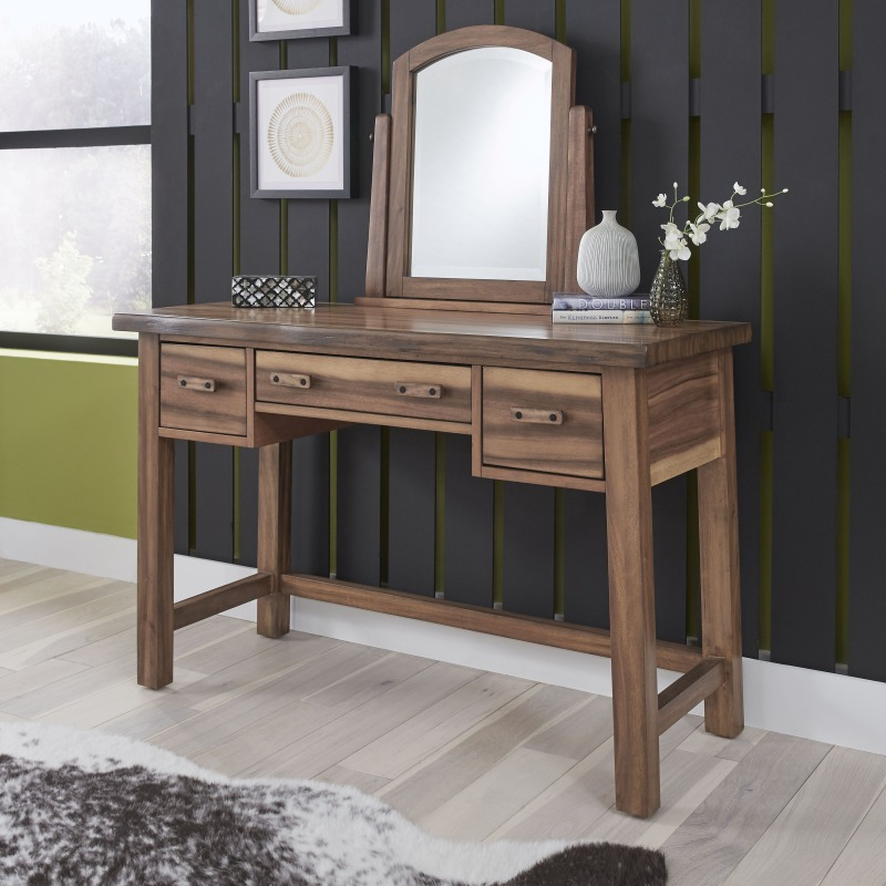 Forest Retreat Vanity with Mirror