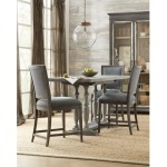 Beaumont 5pc Counter Height Dining Set
