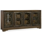 Hooker Furniture Home Entertainment Pipe Creek Bunching Media Console