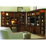Wall Book Case - End Unit