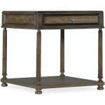 Vera Cruz Rectangular End Table