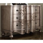 Three Drawer Shaped Front Chest