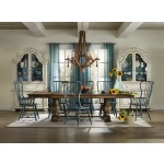 Sanctuary Rectangle Trestle Table Room