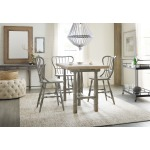 Ciao Bella Spindle Back Counter Stool-Speckled Gray Room
