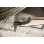 Woodlands Arched Upholstered Arm Chair Detail