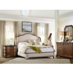 Archivist California King Upholstered Bed Room
