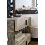 Miramar Carmel Caspian Two Drawer Telephone Table Detail
