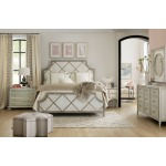 Sanctuary Diamont King Panel Bed Room