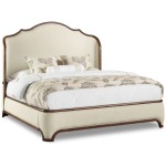 Archivist California King Upholstered Bed Silhouette