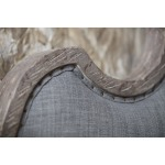 Beaumont Cal King Upholstered Bed Detail