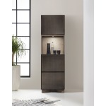 Melange Virtrine Bar Cabinet Room