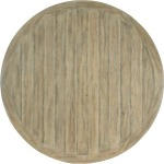 Surfrider 60in Rattan Round Dining Table