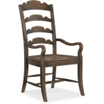 Twin Sisters Ladderback Arm Chair Silhouette