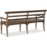 Hill Country Helotes Dining Bench Silhouette