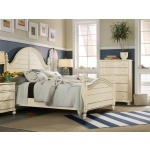 Sandcastle King Wood Panel Bed Room