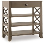 Melange Tiered Accent Table