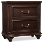 Moccato Two-Drawer Nightstand