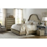 Alfresco Lauro King Panel Bed with Metal