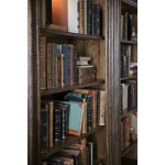 Crafted Bookcase Detail