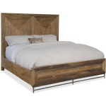 L'Usine Cal King Panel Bed Silhouette
