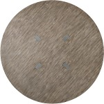 Curata 72in Round Dining Table Silhouette