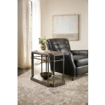 Woodlands Eight-Leg End Table w/ Metal Room