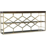 Melange Giles Console Table Silhouette