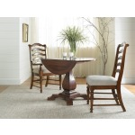 Waverly Round Drop Leaf Pedestal Table