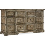 La Grange Rolling Hill Nine-Drawer Dresser