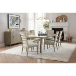 Pacifica 78in Rectangle Dining Table w/2-18in Leaves Room