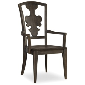 Furniture Sanctuary Arm Chair-Greige Journey