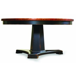 48-inch Copper Top Dining Table