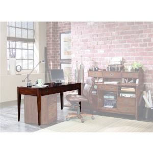 Furniture Danforth Executive Leg Desk