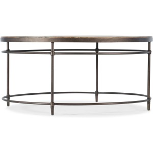 Living Room St. Armand Round Cocktail Table
