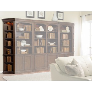 Cherry Creek Wall Book Case - End Unit L/R