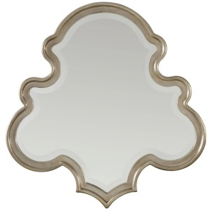 Furniture Sanctuary Shaped Mirror-Silver Journey