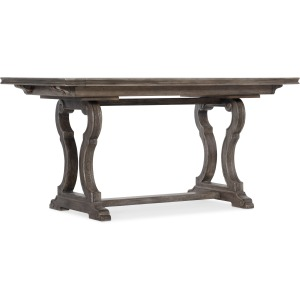 "Woodlands 60"" Friendship Table w/ 2-12"" Leaves"