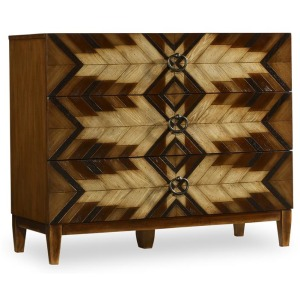 Living Room Geometric Chest
