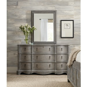 Beaumont Nine-Drawer Dresser & Mirror