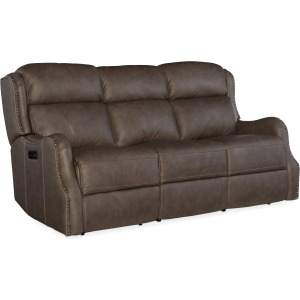 Sawyer Power Recliner Sofa w/Power Headrest