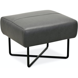 Efron Club Chair w/ Black Metal Base