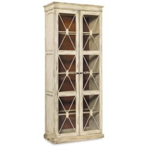 Sanctuary Two-Door Thin Display Cabinet