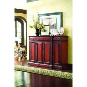 72in. Tall Waisted Credenza