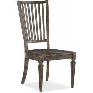 Woodlands Wood Back Side Chair